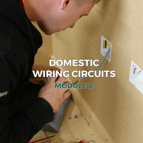 Domestic Wiring Circuits - Module 2 - Technique Learning Solutions on radial circuit parts, radial circuit diagram, electrical wiring,