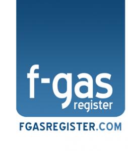 F-gas register logo