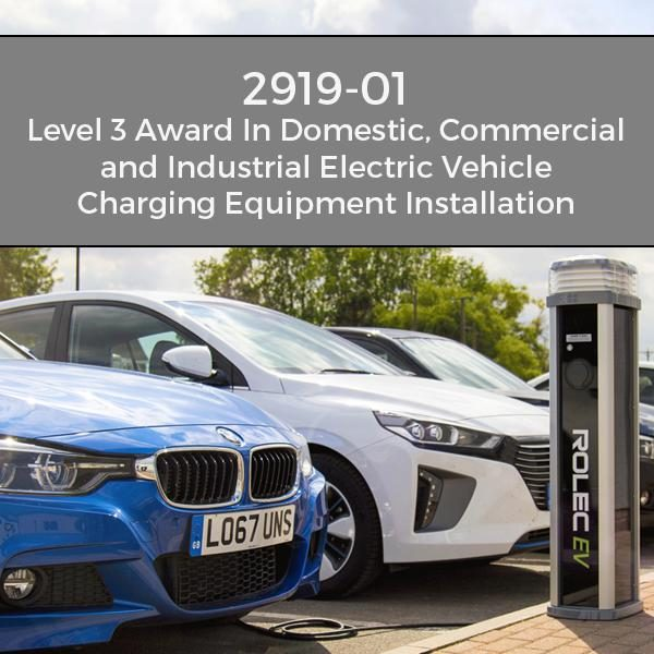 Electric Vehicle Charging Equipment Installation Course