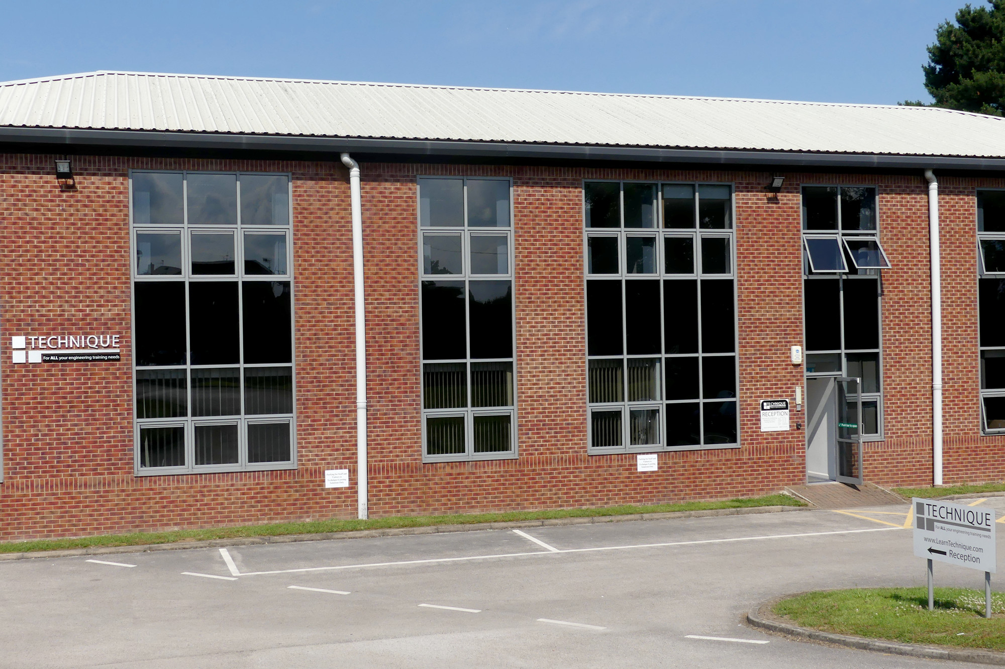 Technique Head Office at Mill Lane, Wingerworth