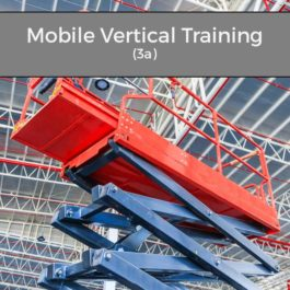 IPAF Mobile Vertical Training (3a)
