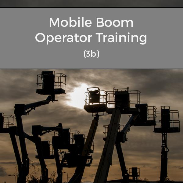 IPAF Mobile Boom Operator Training Course (3b)