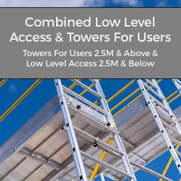 PASMA Combined Low Level Access and Towers For Users