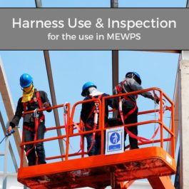 IPAF Harness use and inspection – for the use in MEWPS - Training Courses