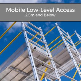 PASMA Mobile Low-Level Access 2.5m and below