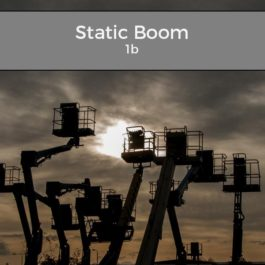 IPAF Static Boom – 1b Training Courses