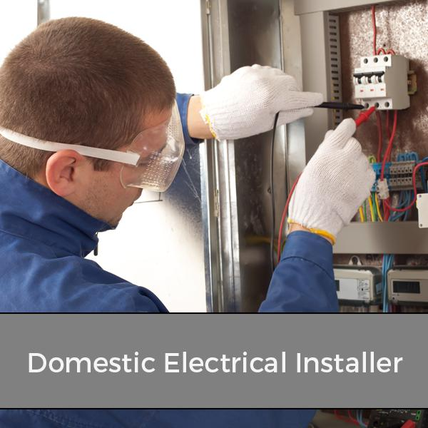 Domestic Electrical Installer Training Courses