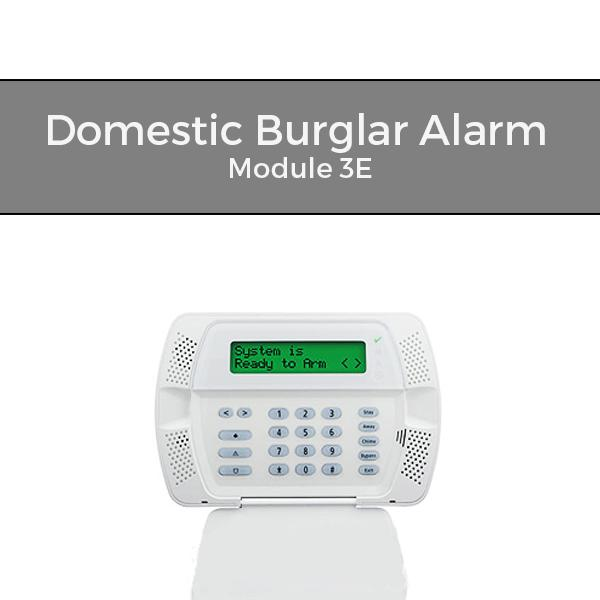Domestic Burglar Alarm Training Courses