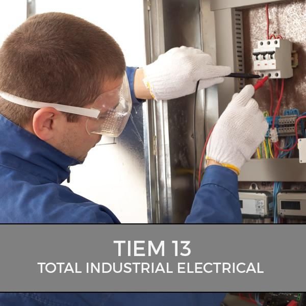 Total Industrial Electrical Maintenance 13 training course