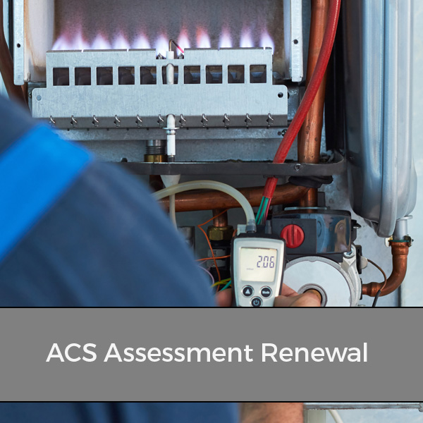 Engineer on their ACS renewal reassessment
