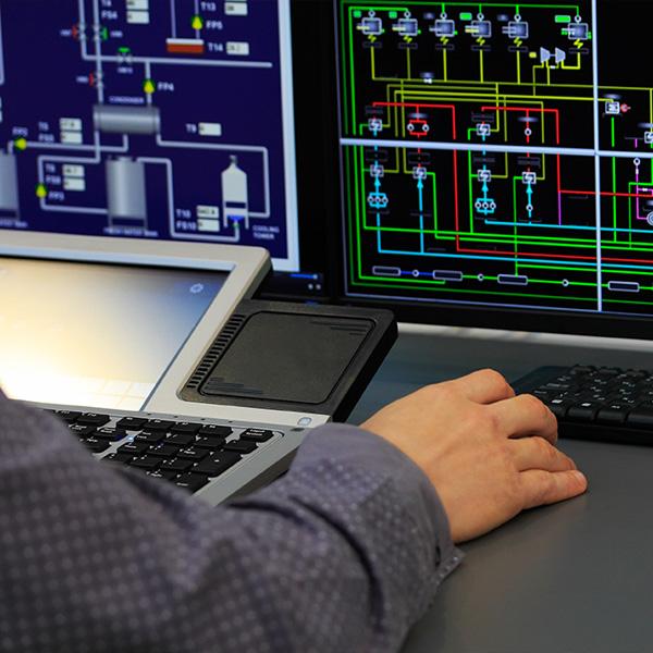 SCADA HMI Course Screens